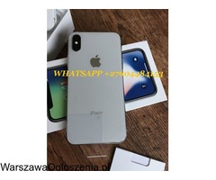 iPhone X 64 GB kosztuje 400 € iPhone 8 64GB 340€ iPhone 7 32GB 260 €
