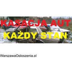 KASACJA AUT KASACJA POJAZDÓW 739-222-111 AUTO KASACJA WARSZAWA