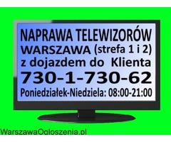 Tani serwis i naprawa telewizorów Warszawa (strefa 1 i 2).