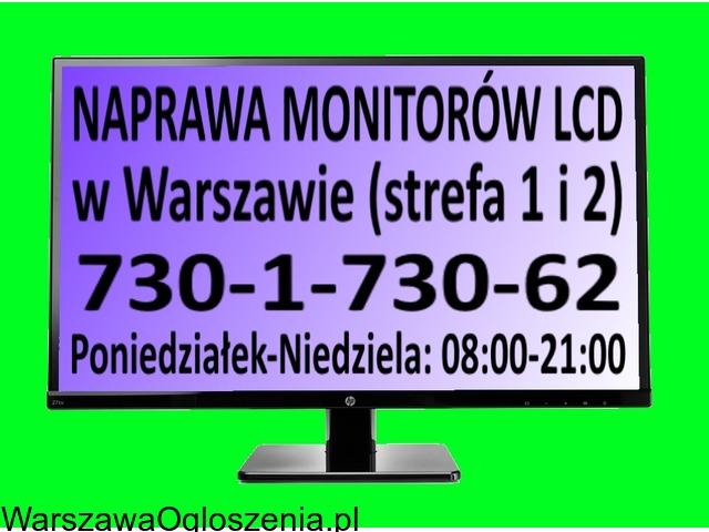 Naprawa monitorów LCD w Warszawie (strefa 1 i 2)