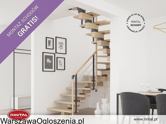 Schody Rintal we wrześniu montaż schodów gratis - 1