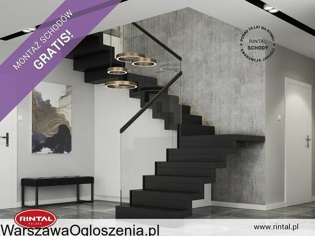Schody Rintal we wrześniu montaż schodów gratis - 2
