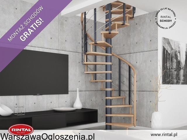 Schody Rintal we wrześniu montaż schodów gratis - 3