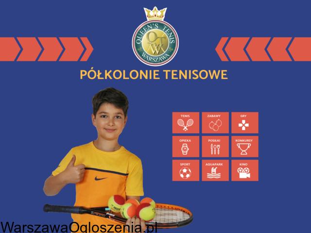 Półkolonie Warszawa z Queen's Tenis - 1