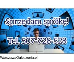 Sprzedaż spółek czystych. Tel.507-728-528