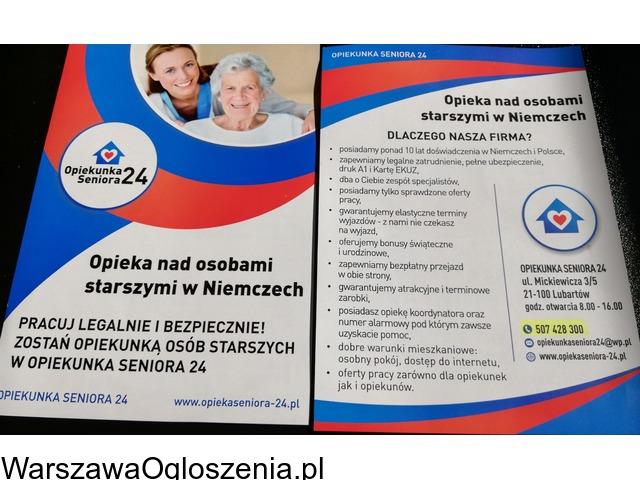 Opiekun/ka seniora w Niemczech - 1