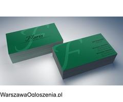 Wizytówki z projektem Warszawa - Image 2