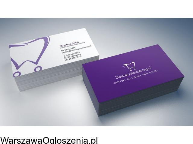 Wizytówki z projektem Warszawa - 3