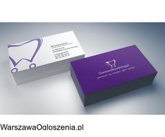 Wizytówki z projektem Warszawa - Image 3