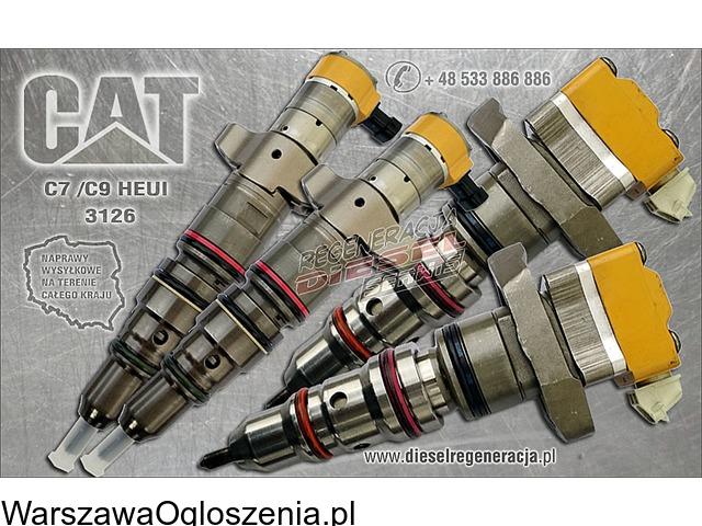 Ppomy wtryskowe, CAT heui C7/C9, Scania  HPI XPI wtrskiwacze, regeneracja naprawa. - 5