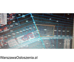 Działka rolna 7747 m2 Warszawa ul. Kadetów