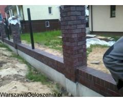 Wykonastwo ogrodzen i ukladanie kostki brukowej