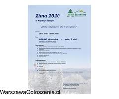 Zima 2020 r. w Krynicy Zdrój