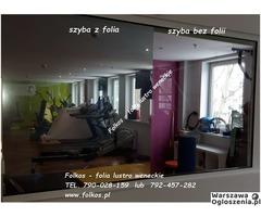 Lustro weneckie folia na okna- szyba wenecka, folia wenecka Warszawa -oklejanie szyb, sprzedaż folii - Image 2