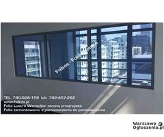 Lustro weneckie folia na okna- szyba wenecka, folia wenecka Warszawa -oklejanie szyb, sprzedaż folii - Image 8