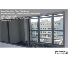 Lustro weneckie folia na okna- szyba wenecka, folia wenecka Warszawa -oklejanie szyb, sprzedaż folii - Image 9