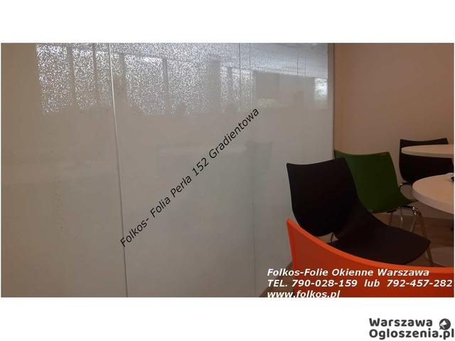 Oklejanie szyb Warszawa- folie matowe , dekoracyjne, bezpieczne i antywłamaniowe - 2