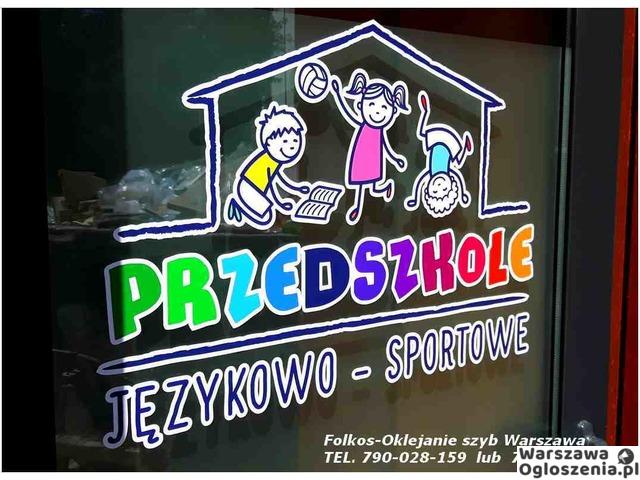 Oklejanie szyb Warszawa- folie matowe , dekoracyjne, bezpieczne i antywłamaniowe - 3