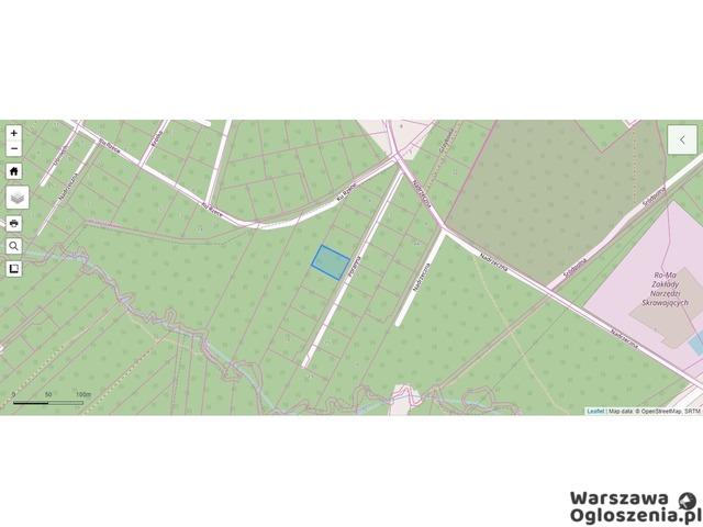 SPRZEDAM działkę REKREACYJNĄ 1500m2 z możliwością ZABUDOWY , piękna, leśna okolica - 1