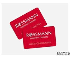 Karta podarunkowa Rossman