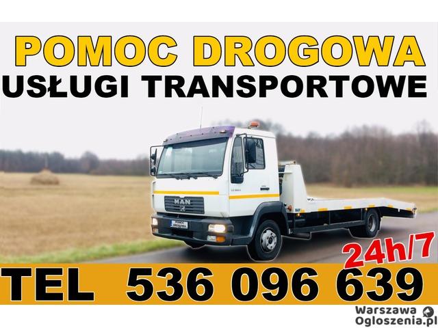 Autolaweta - Transport 3t 4t 5t 6t - Pomoc Drogowa - Przewóz maszyn i samochodów - Tobano Wrzesiński - 1