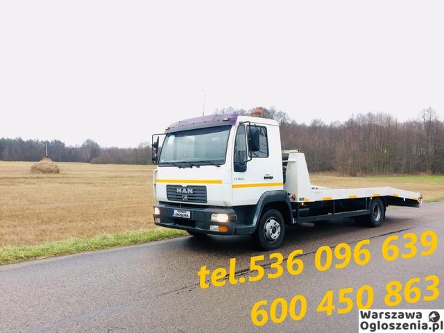 Autolaweta - Transport 3t 4t 5t 6t - Pomoc Drogowa - Przewóz maszyn i samochodów - Tobano Wrzesiński - 3