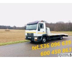 Autolaweta - Transport 3t 4t 5t 6t - Pomoc Drogowa - Przewóz maszyn i samochodów - Tobano Wrzesiński - Image 3
