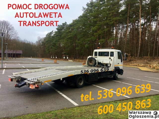 Autolaweta - Transport 3t 4t 5t 6t - Pomoc Drogowa - Przewóz maszyn i samochodów - Tobano Wrzesiński - 4