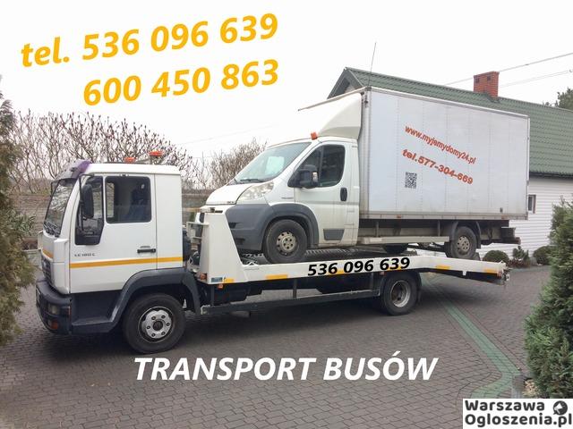 Autolaweta - Transport 3t 4t 5t 6t - Pomoc Drogowa - Przewóz maszyn i samochodów - Tobano Wrzesiński - 5