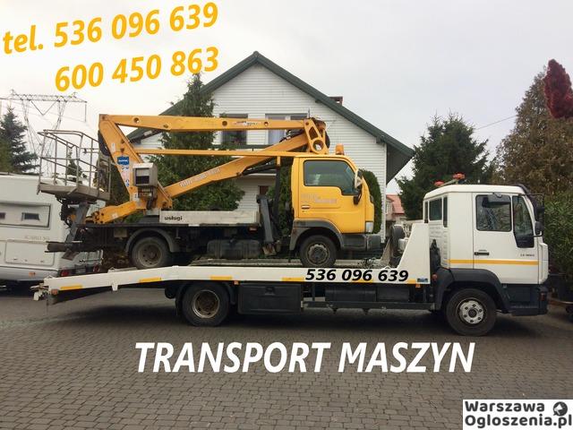 Autolaweta - Transport 3t 4t 5t 6t - Pomoc Drogowa - Przewóz maszyn i samochodów - Tobano Wrzesiński - 6