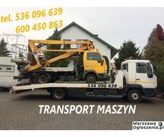 Autolaweta - Transport 3t 4t 5t 6t - Pomoc Drogowa - Przewóz maszyn i samochodów - Tobano Wrzesiński - Image 6