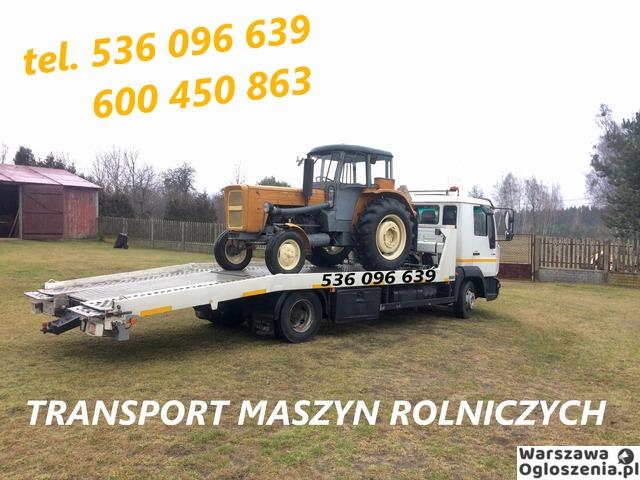 Autolaweta - Transport 3t 4t 5t 6t - Pomoc Drogowa - Przewóz maszyn i samochodów - Tobano Wrzesiński - 7