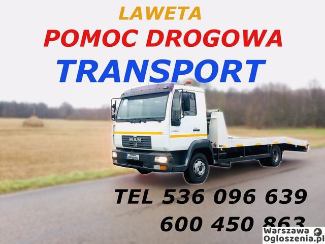 Autolaweta - Transport 3t 4t 5t 6t - Pomoc Drogowa - Przewóz maszyn i samochodów - Tobano Wrzesiński - 8