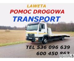 Autolaweta - Transport 3t 4t 5t 6t - Pomoc Drogowa - Przewóz maszyn i samochodów - Tobano Wrzesiński - Image 8
