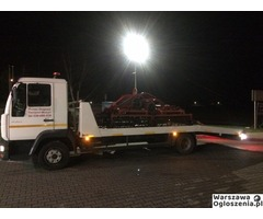 Autolaweta - Transport 3t 4t 5t 6t - Pomoc Drogowa - Przewóz maszyn i samochodów - Tobano Wrzesiński - Image 10