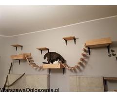Legowiska dla kotów, półki dla kota na ścianę kotyfikacja model #31 https://sklep.robirobi.pl