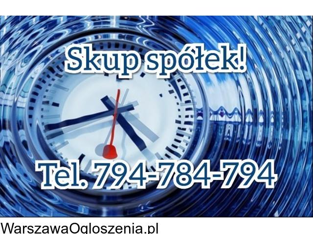 Skup spółek z o. o. Tel. 794-784-794