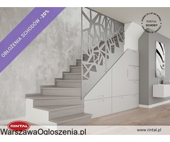 Obłożenie schodów betonowych - rabat do 20%!