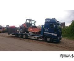 Transport zwyżki maszyn Wielkopolska