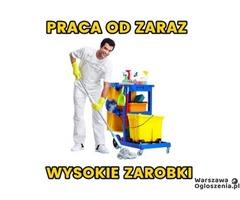 PRACA OD ZARAZ WYSOKIE ZAROBKI Warszawa