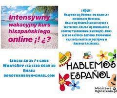 Hiszpański Latynoski prosto z Meksyku, promocja 40zl/1godz
