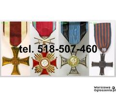 KUPIE stare ordery, medale,odznaki,odznaczenia