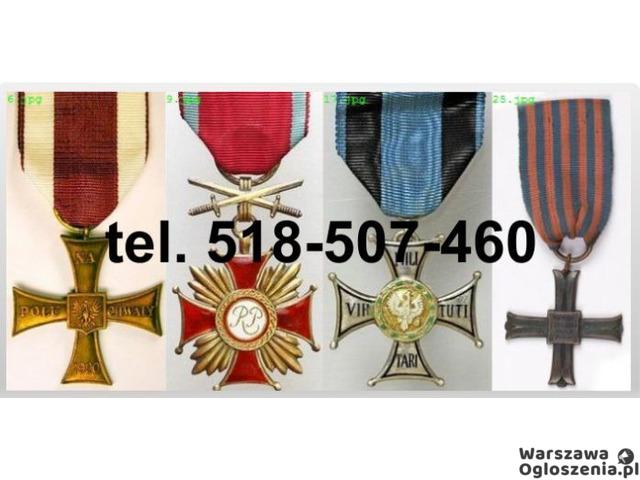 Kupie stare ordery, medale, odznaki, odznaczenia - 1