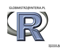 R / RStudio, Shiny, RMarkdown - zadania, projekty
