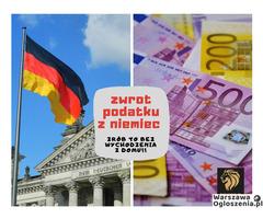 Zwrot podatku z Niemiec bez wychodzenia z domu!