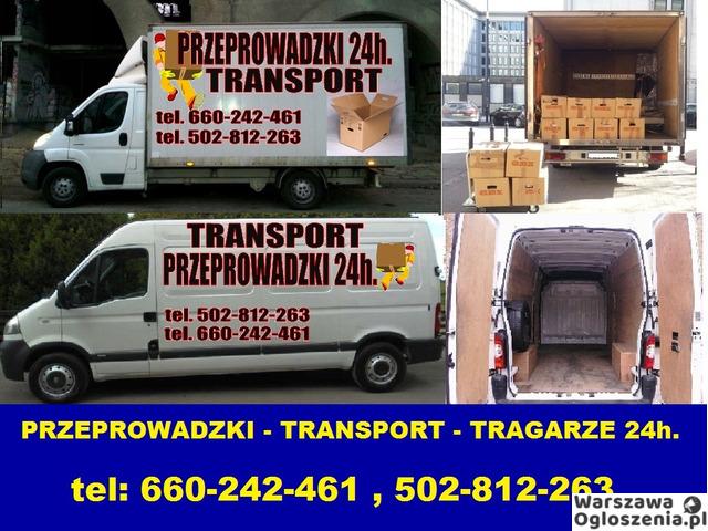 usługi transportowe przeprowadzki tragarze wywóz mebli - 1