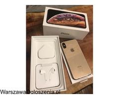 Sprzedaż iPhone XS 64GB - € 420 iPhone XS Max 64GB€430 iPhone X 64GB € 380