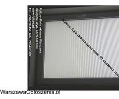 Folia na okno w łazience -Oklejanie szyb łazienkowych Folkos Warszawa - Image 1