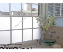 Folia na okno w łazience -Oklejanie szyb łazienkowych Folkos Warszawa - Image 4