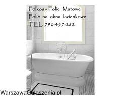 Folia na okno w łazience -Oklejanie szyb łazienkowych Folkos Warszawa - Image 5